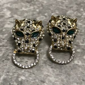Bebe Jaguar Post Earrings